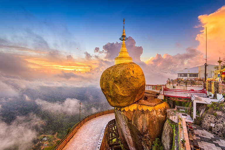 วัดในพม่า